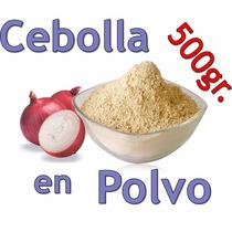 Cebolla Molida En Polvo 1/2 Kilo Harina Deshidratada