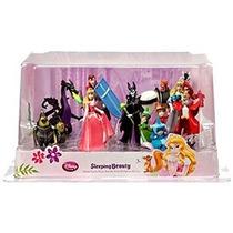Disney La Bella Durmiente Exclusivo 9 Piezas Pvc Figure Set