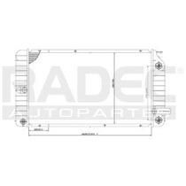 Radiador Pontiac Grand Am 1994-1995 L4/v6 2.3/3.1 Lts Auto
