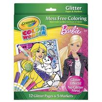 Crayola Color Wonder Mess Gratuito Glitter Colorear Set - Ba