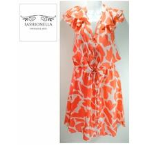 Vestido Seda Loft By Ann Taylor - Fashionella - Sm(6) T9y2