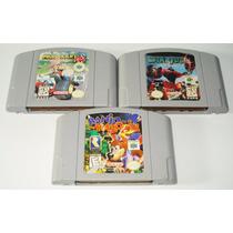 Paquete 3 Juegos N64 Nintendo Retromex Tcvg