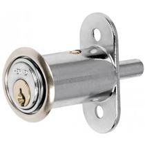 Cerradura Para Mueble Tipo Boton Cromo Hermex 43561