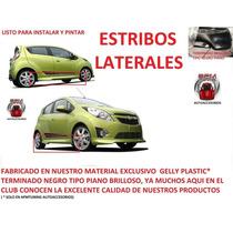 Estribos Laterales Chevrolet Spark Tuning Deportivo