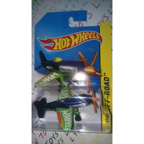 Hot Wheels Avioneta Cesna Mad Propz Azul Lyly Toys