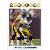 2008 Topps #241 James Harrison Rc Acereros De Pittsburgh