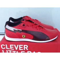 Puma Ferrari Evospeed Low Sf Nm Rojo/ Negro Talla 25 Y 26 Mx