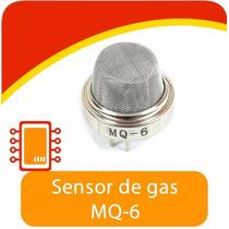 Sensor De Gas Mq6 Lp Propano Y Butano Y Gas Natural