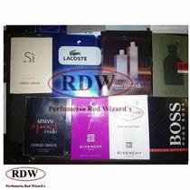 Muestras De Perfume Original Rdw