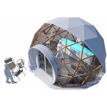 Domo Geodesico Bar De 6 Metros