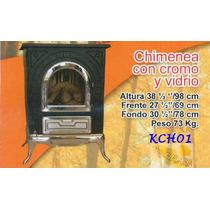 Chimenea De Lena Natural Diseño Menonita Kch01 Fn4