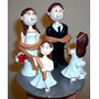 Novios Figura Pastel De Boda Cake Topper Personalizado
