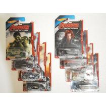 Hot Wheels Lote 8 Vehiculos Avengers Era De Ultron
