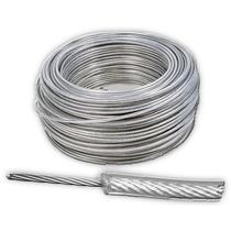 Cable De Acero En Rollo 7x19 3/16-1/4 Y 75 Metros Obi