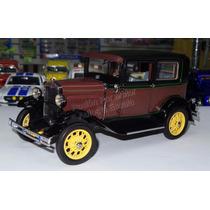 1:18 Ford Model A Tudor 1931 Sun Star Carcacha
