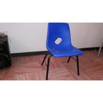 Silla Preescolar De Concha, Mobiliario Escolar , De Oficina.