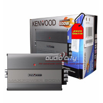 Amplificador Extra Compacto Kac-m3001 Kenwood Clase D 400w