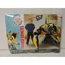 Transformers Globo Metálico Helio Fiestas Decoración Eventos