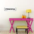 Letrero Decorativo Princesa