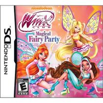 Winx Club: Magical Fairy Party Para Nintendo Ds