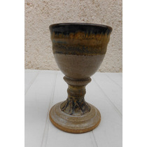 Copa De Ceramica Artesanal Hecha A Mano