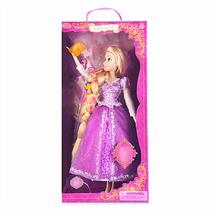 Muñeca Deluxe Rapunzel Canta E Ilumina 43 Disney Store 2015