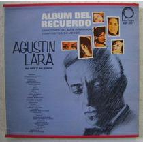 Agustin Lara / Su Voz Y Su Piano Album De 3 Discos Lp Vinilo