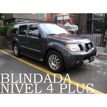 Pathfinder 2012 4x4 Blindada Nivel 4 Plus Alta Seguridad!!