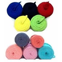 Trapillo Hermosos Colores Para Collar Bisuteria Lote 100 Mts