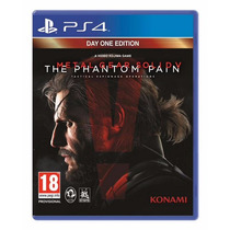 Metal Gear Solid 5 Phantom Pain Edicion Dia Uno Semi Nuevo