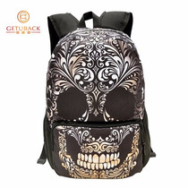 Mochila Escolar Cosplay Skull Graffiti Punk