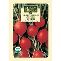 Semillas Del Cambio Orgánico Certificado Rábano Cereza - 3 G