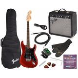 Kit De Guitarra Fender, Amplificador Y Accesorios