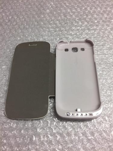 da3cae8039f Funda Bateria Flip Cover Samsung Galaxy S3 I9300 3200 Mah