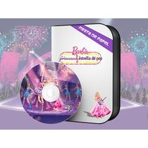 Ki-066 Kit Imprimible Y Editable Barbie La Princesa