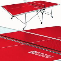 Mesa De Ping Pong Profesional Roja - Envio Gratis