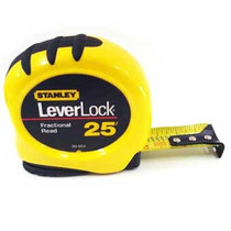 Flexómetro Leverlock Stanley