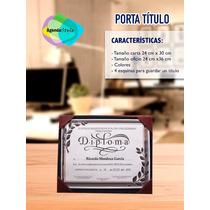 Carpetas De Curpiel Para Graduaciones Y Porta Titulo.