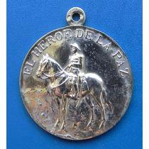 Medalla Porfirio Diaz Plata Dorada Finales 1800 Mexico