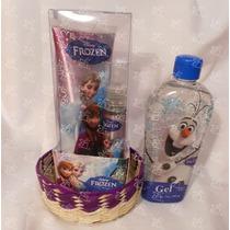 Regalo Perfume, Crema, Gel Y Jabones Frozen Anna Elsa U Olaf