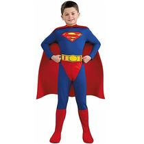 Disfraz Superman Dc Comics Talla 12-14 Nuevo!