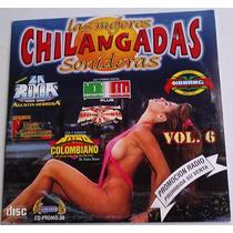 Cd Promocional Cartoncillo Las Mejores Chilangadas Sonideras