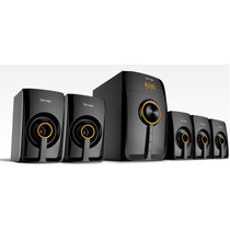 Bocinas Bluetooth 5.1 Vorago Spb-500 Multimedia,home Theater