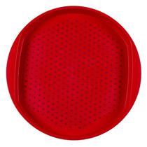 Charola Circular Dots Roja (grande) Casa Mía