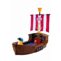 Cama Infantil Camita Niños Barco Pirata Little Tikes Vv4