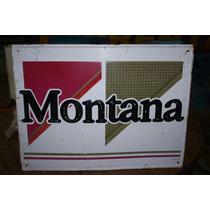 Lamina Troquelada Cigarros Montana 60 X 45 Cm