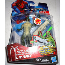Lagarto Amazing Spiderman Reptil Blast Lizard Articulado