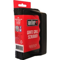 Weber Grill Brush Scrubber - Heavy Duty Grate Cleaner - Con