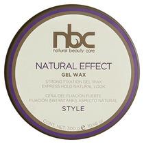 Cera Gel Wax Natural Nbc 300 Gr Fijacion Con Aspecto Natural