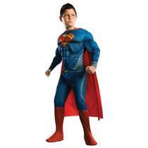 Disfraz Superman Talla 7/8 Años Original Entrega Inmediata